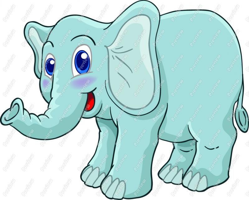 Cute Elephant Clip Art | clip art serie 3 ghostcemeterybw 4 ...
