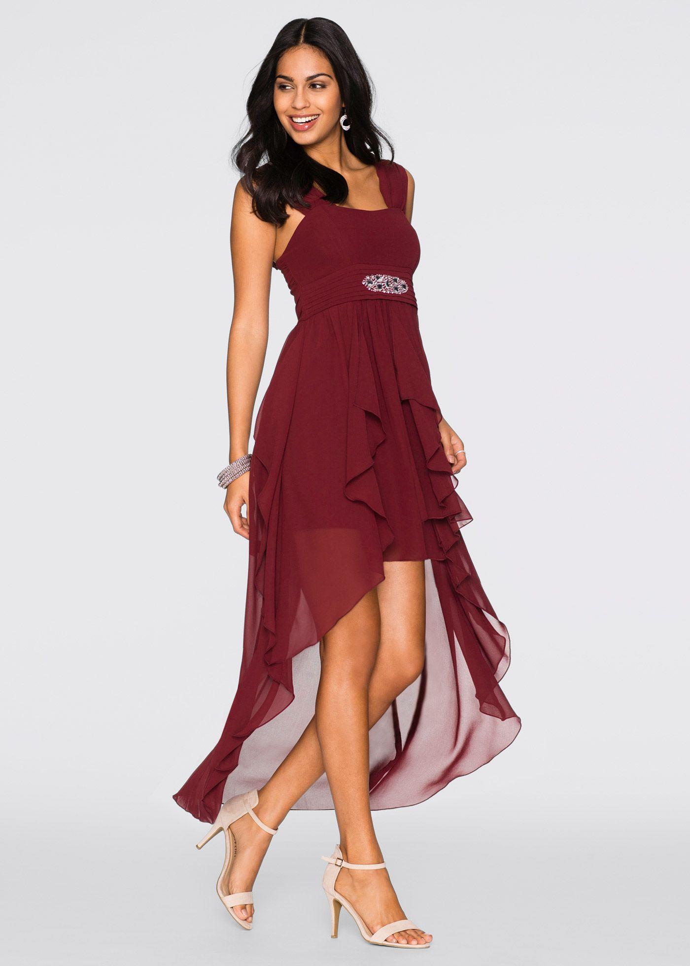 Kleid vorne kurz hinten lang bonprix