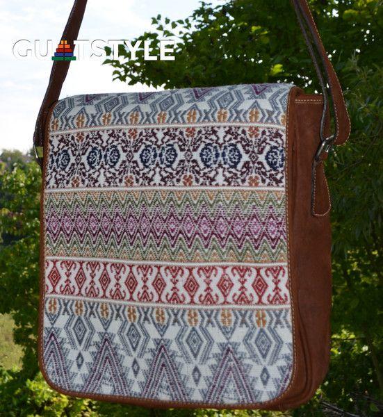 Schultertasche Antigua – Unisex von Guatstyle  auf DaWanda.com