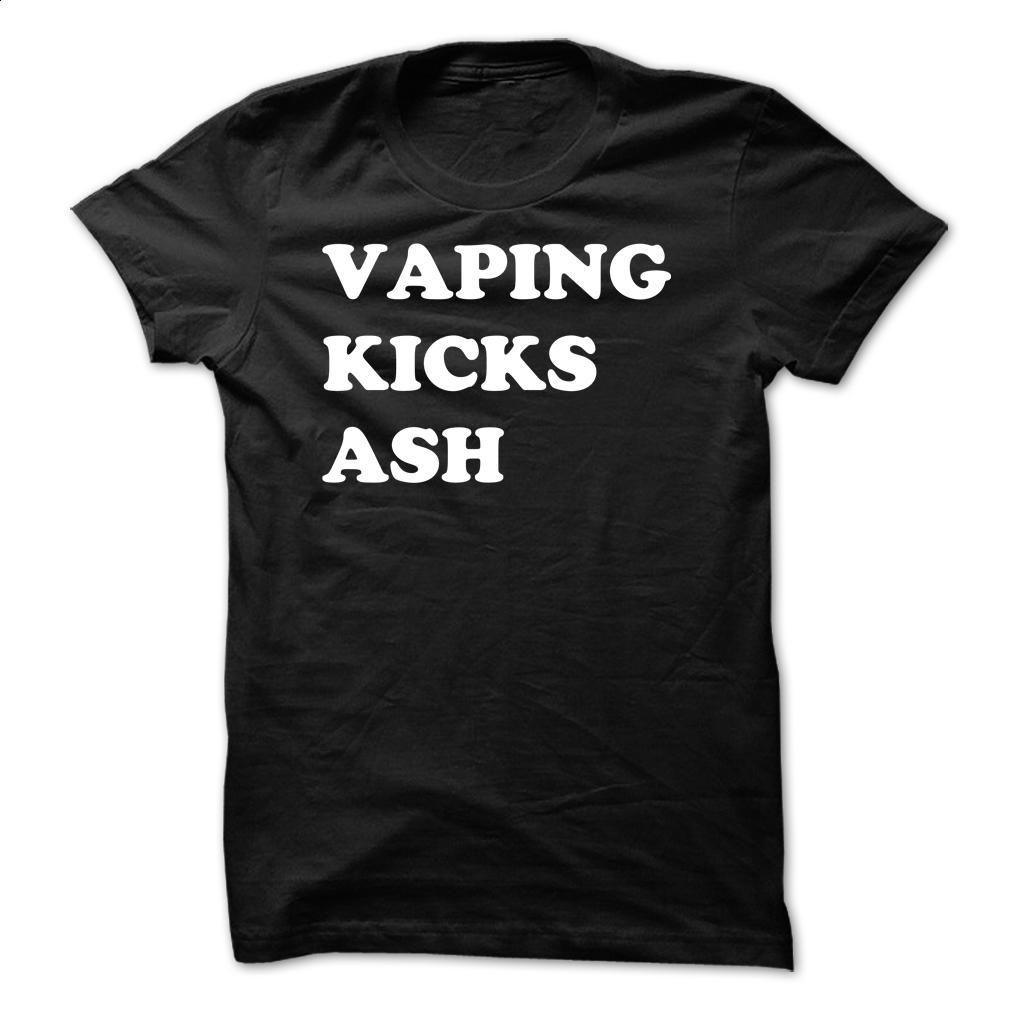 Vaping Kicks Ash T Shirt, Hoodie, Sweatshirts t shirt
