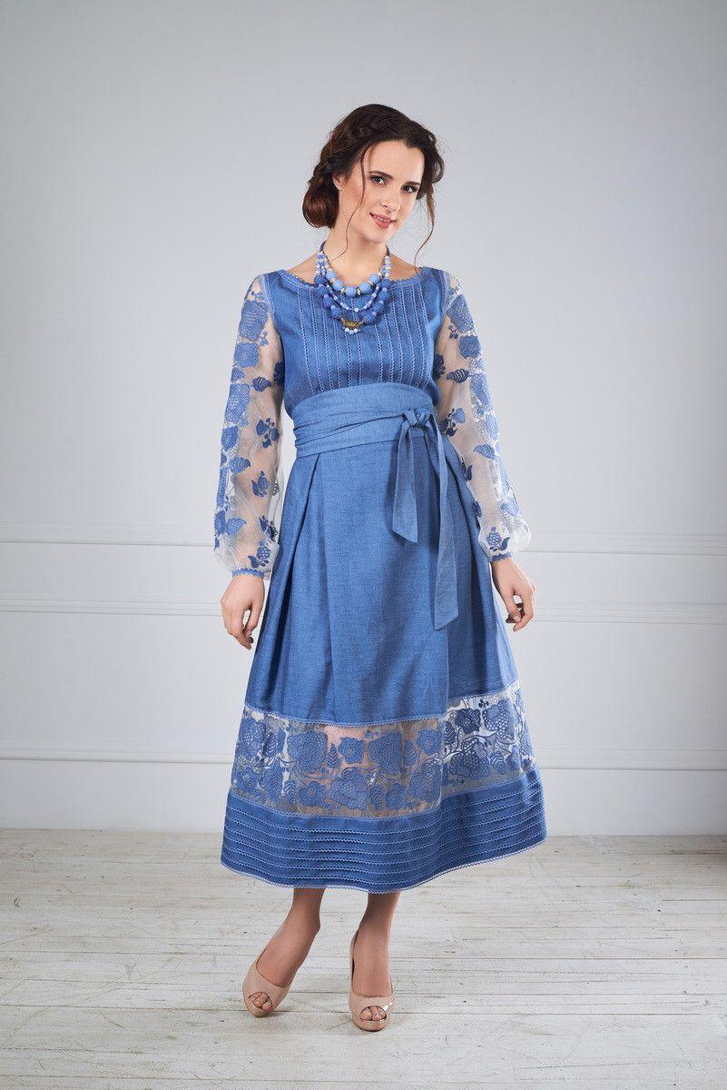 Стильна сукня вишита  продажа 7e2ace634bacd