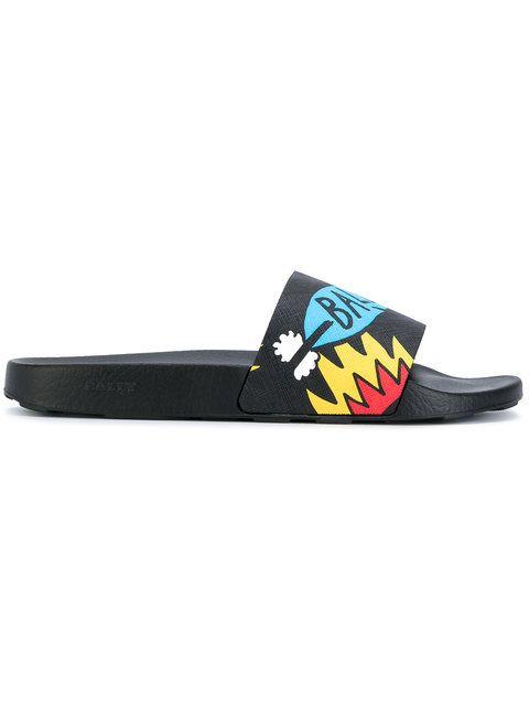 5617dd95d1ca BALLY BALLY - SLANTER POOL SLIDES .  bally  shoes