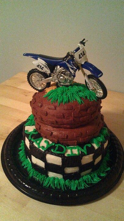 Motocross Birthday Cake Motocross party Pinterest Motocross