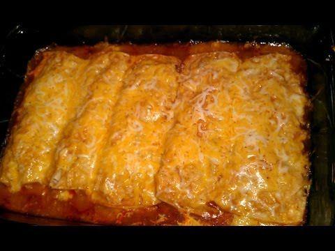 How To Make REAL Mexican Enchiladas: Homemade Chicken Enchilada Recipe - YouTube