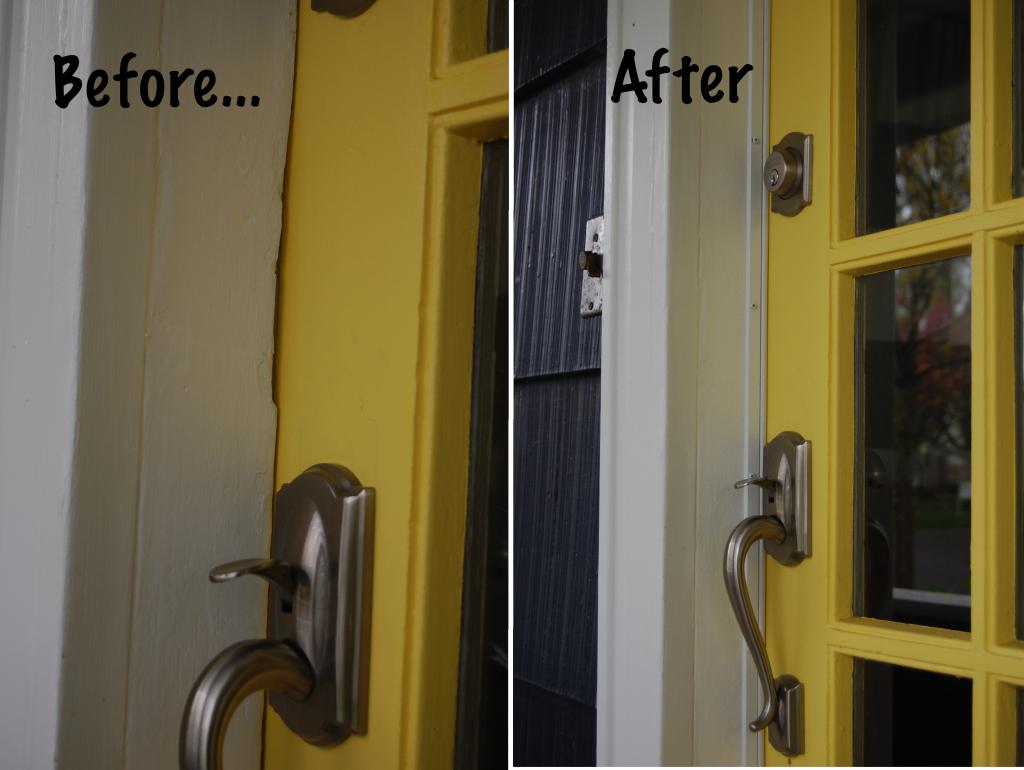 Weatherstripping Your Front Door Diy Home Improvement Weatherstripping Door Weather Stripping