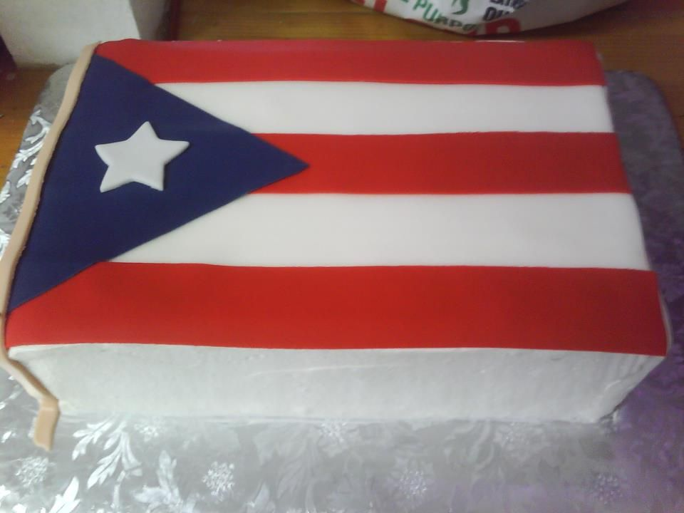 Our Beautiful flag cake