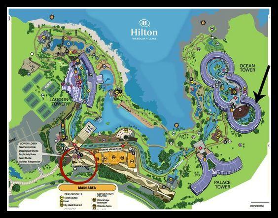 Hilton Waikoloa Village Map Hilton Waikoloa Village Hotel Review | Vacation Dreams and plans