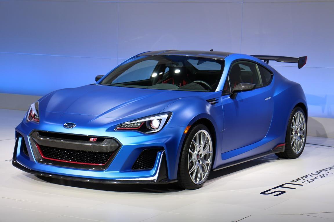 2016 Subaru Brz Sti Concept Performance