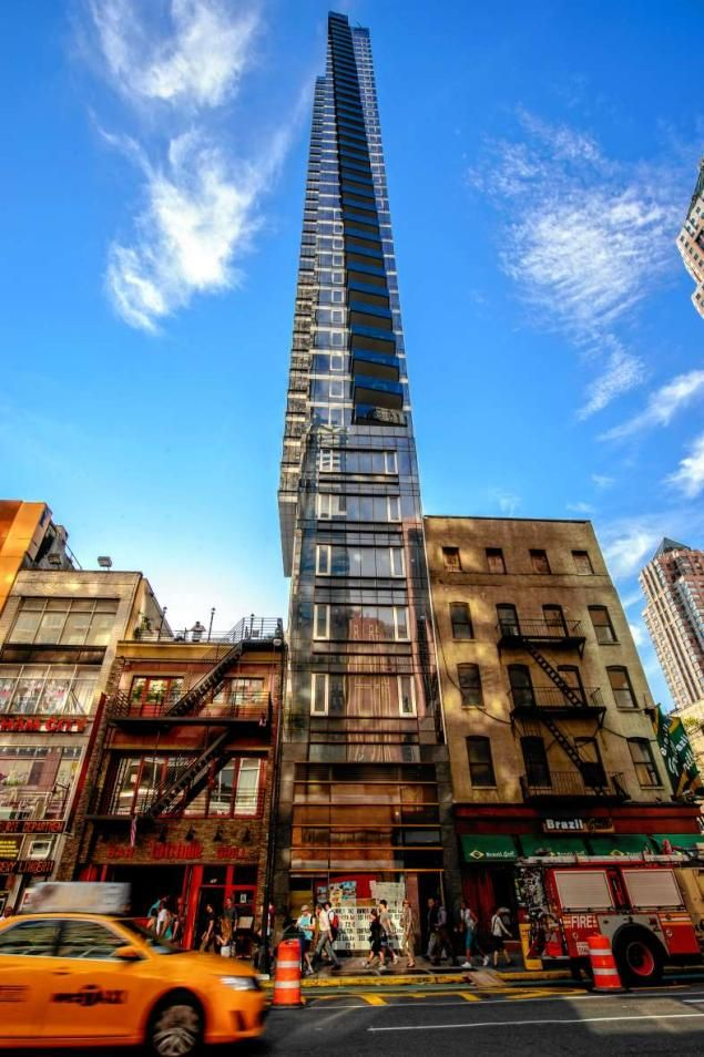 Is this tall and skinny midtown skyscraper New York's most