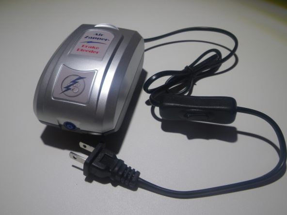 Lightning Fast and Hands Free Vacuum Brake Bleeder Kit by Air Zapper™