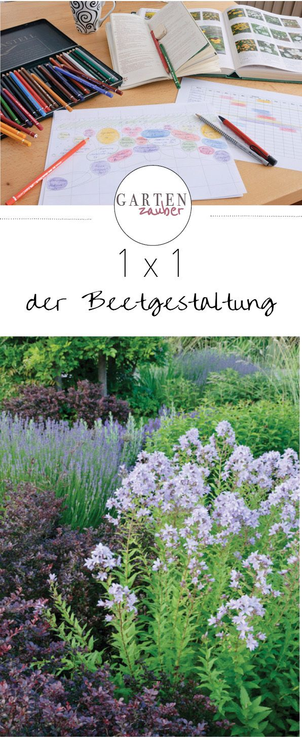 1 x 1 der beetgestaltung gartentipps pinterest for Gartenidee beet