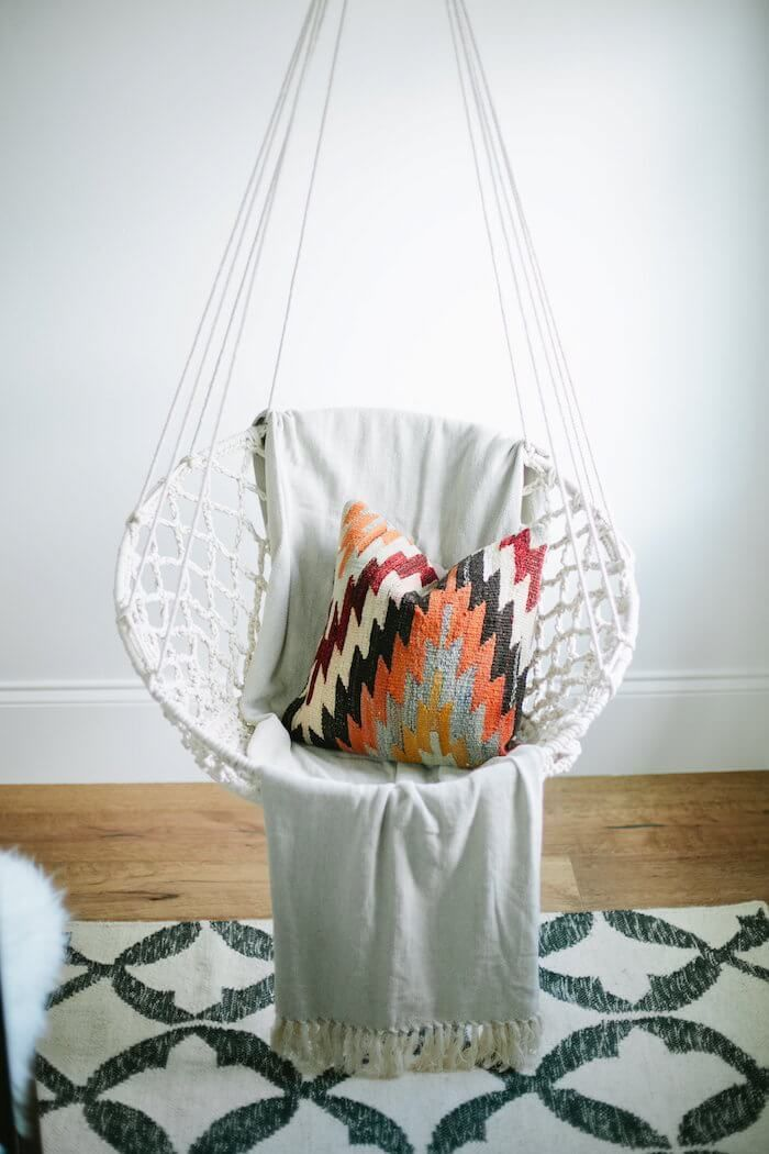 How to hang a swing in your home