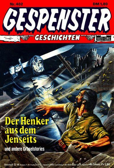 Cover for Gespenster Geschichten (Bastei Verlag, 1974 series) #402