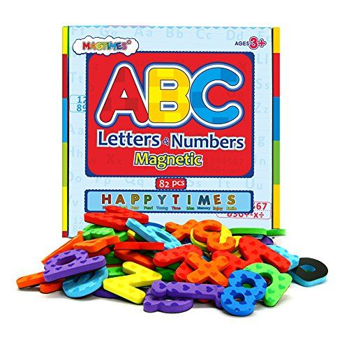 Magnetic Letters And Numbers For Educating Kids In Fun Educational Alphabet Refrigerator Magnets 82 Pieces Kids Learning Alphabet Magnetic Letters Alphabet Magnets