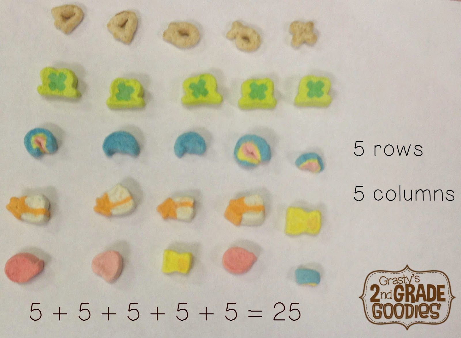 Use Cereal To Teach Repeated Addition