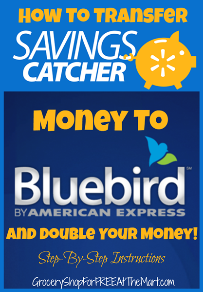 How To Transfer Savings Catcher Money To Bluebird And Double It