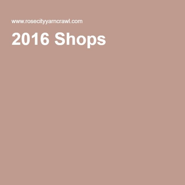 2016 Shops | | Rose city, Shopping, Oregon