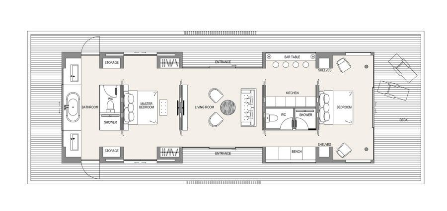 Floating House Floor Plan 1 http://www.e-architect.co.uk/concept/the ...