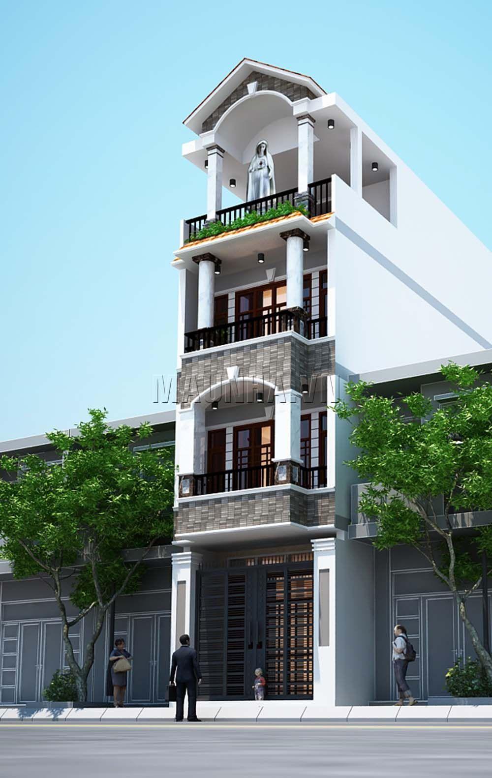 Duplex House Design, House Front Design, Modern Architecture House