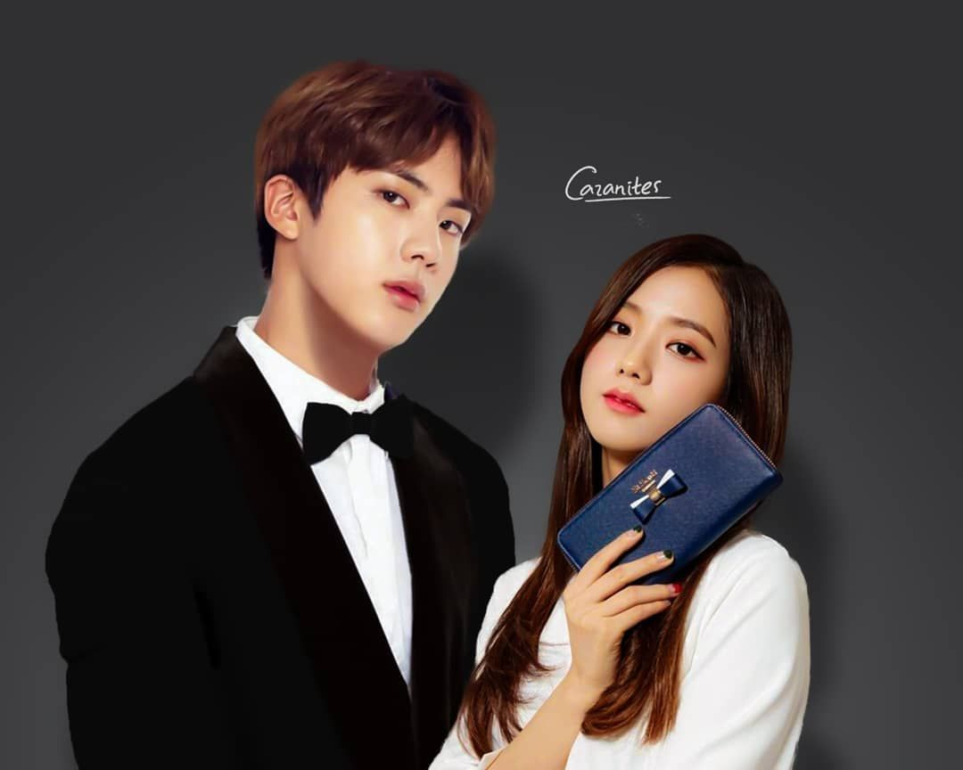 Ceo Kim Seokjin His Secretary Kim Jisoo Uwu This Was Based On Story At Wattpad Named Passion Which Is Amazing You Should Read That U Blackpink Bts Mariana