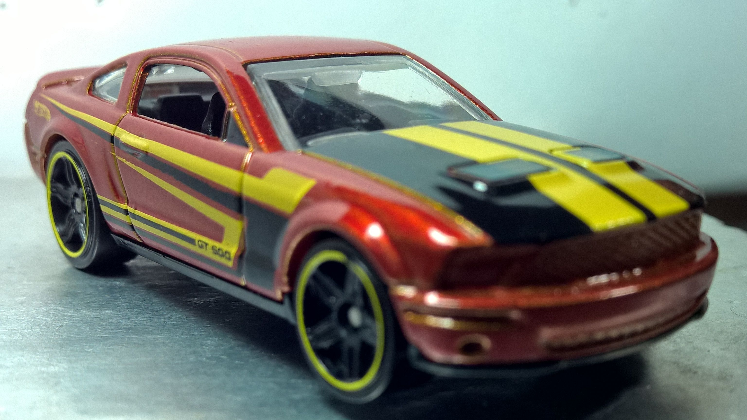 Hot Wheels 07 Ford Shelby Gt500 Code Cars 12 2012 Shelby