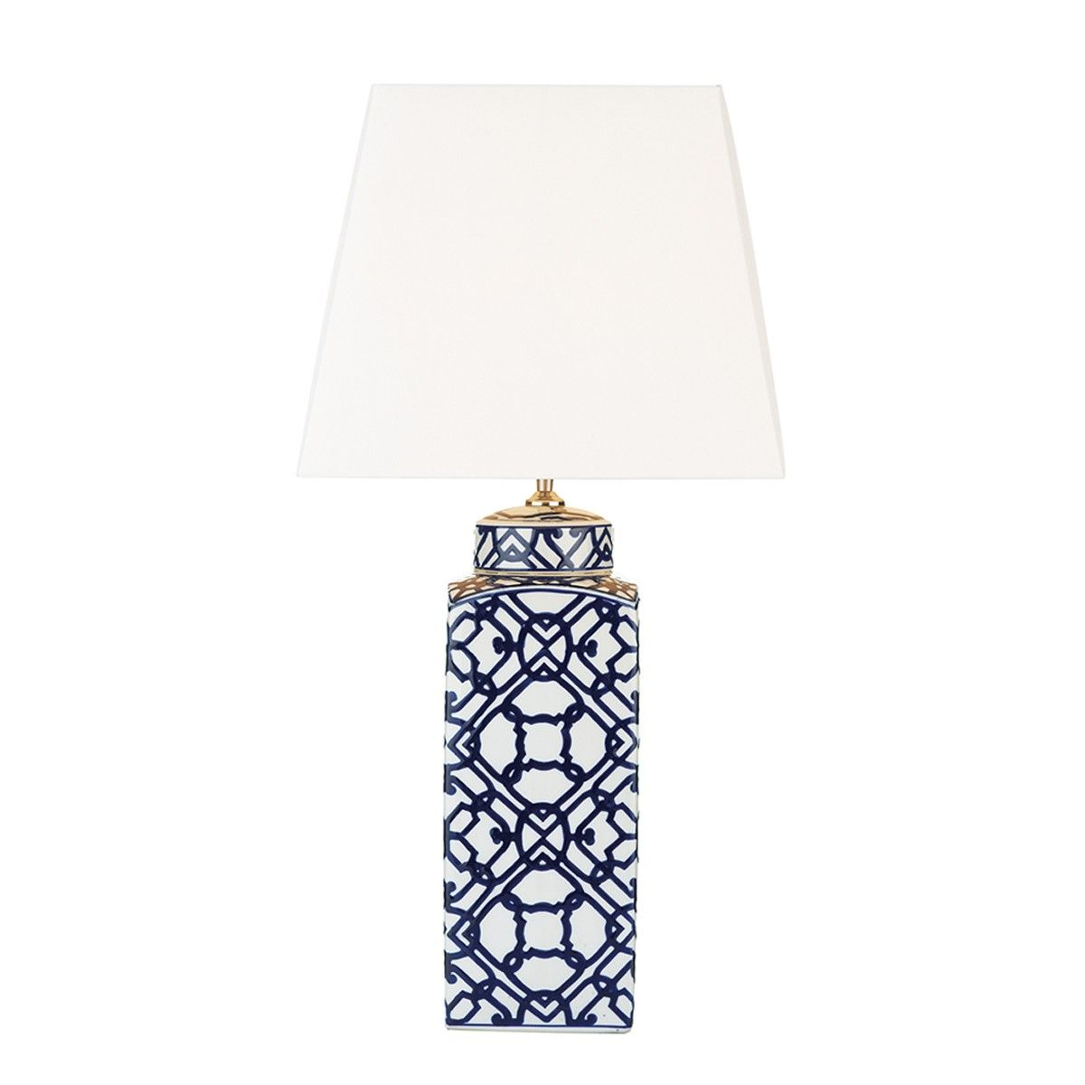 Mystic Table Lamp Blue White Base Only The Mystic 1lt Table Lamp