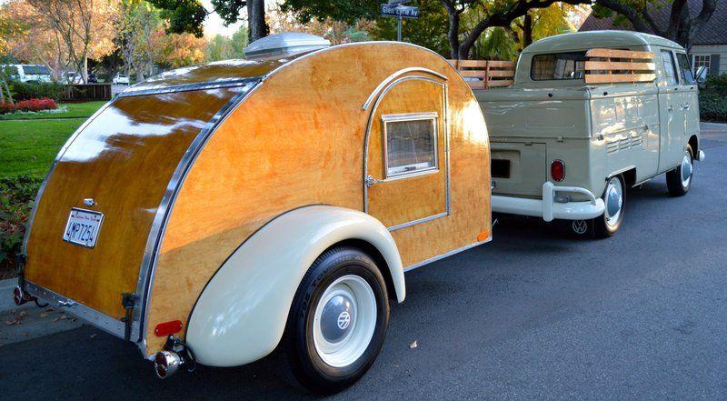 Teardrop Trailer W Volkswagen Teardrop Camper For Sale Teardrop Camper Gidget Retro Teardrop Camper