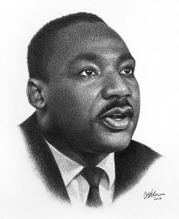 Martin Luther King Jr by Christian Elden