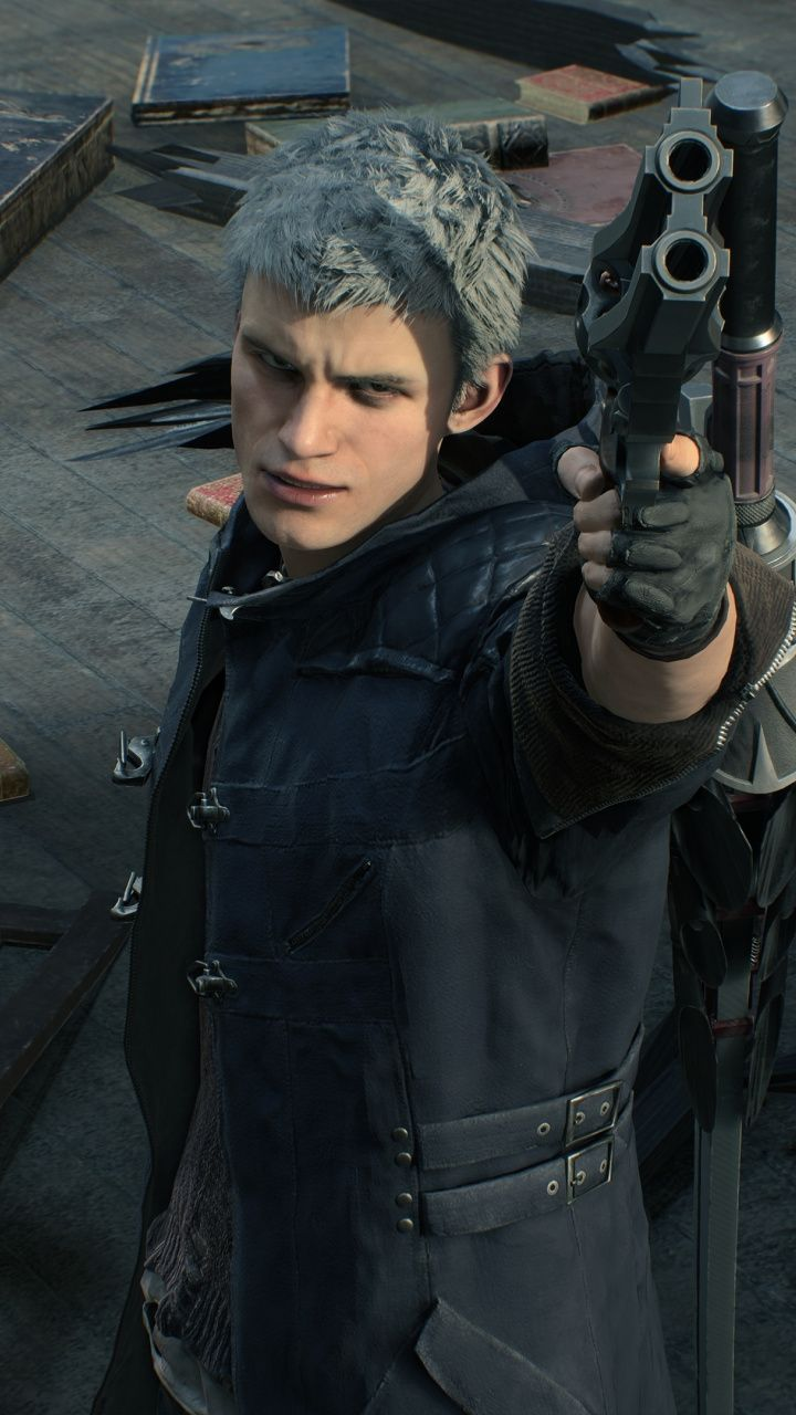 Devil May Cry 5, Video Game, Nero, 720X1280 Wallpaper -6203