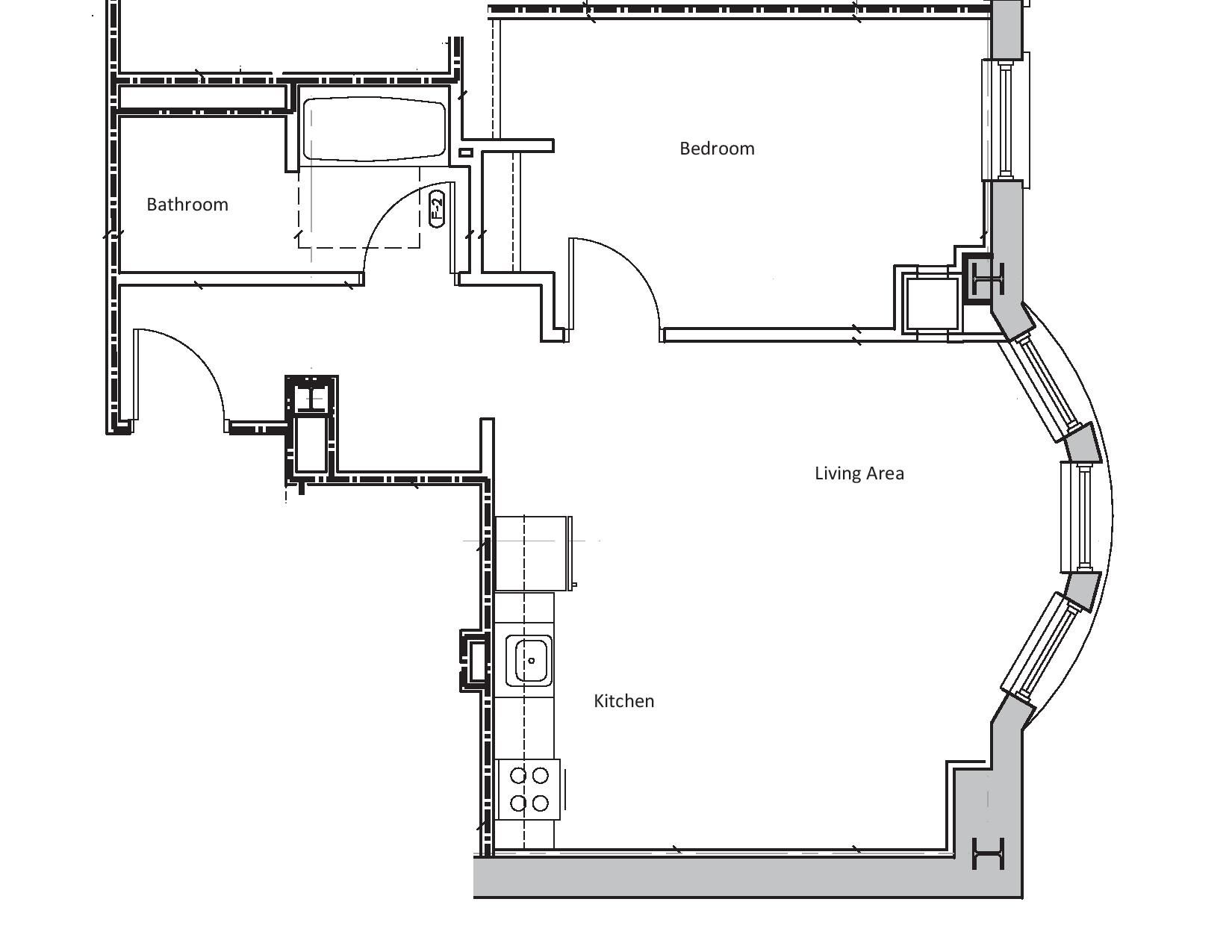Apartment Floor Plans Bedroom Kitchen Apartment Floor Plans One Bedroom House Plans Studio Floor Plans