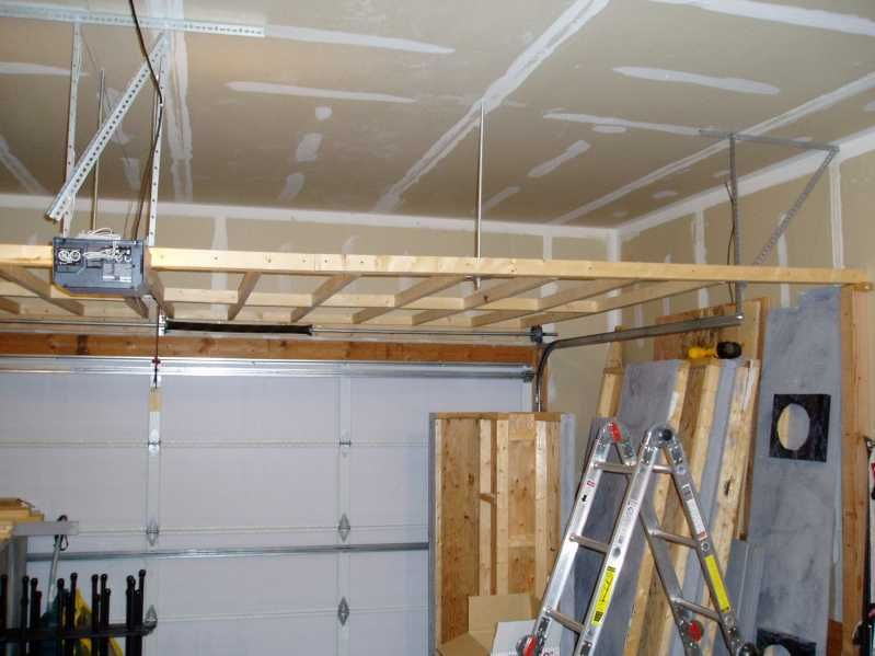 Wonderful How To Build Overhead Garage Storage   Google Search