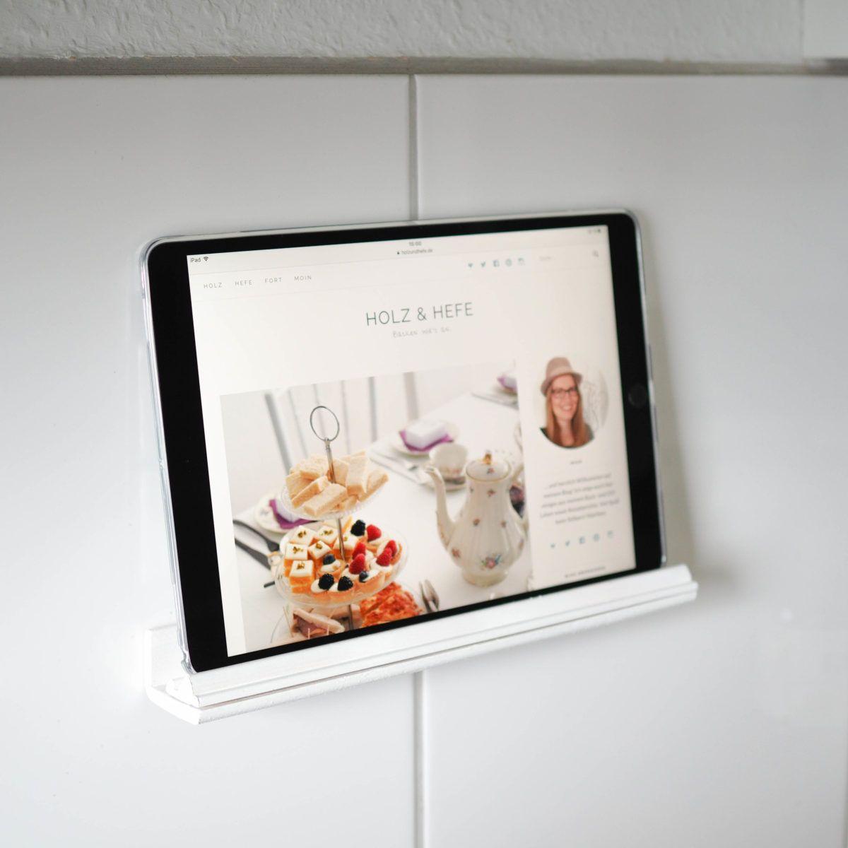 DIY Tablethalterung für die Küche | Küche | DIY, Home Decor ...