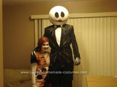 Coolest do it yourself jack and sally couple halloween costume coolest do it yourself jack and sally couple halloween costume 49 solutioingenieria Images