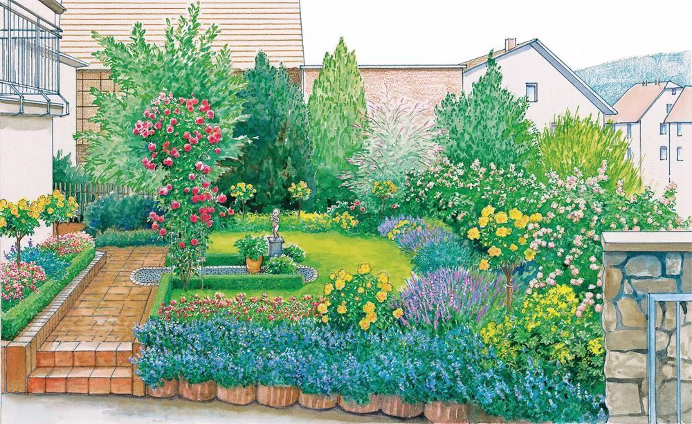 Blumige Ideen Für Den Vorgarten