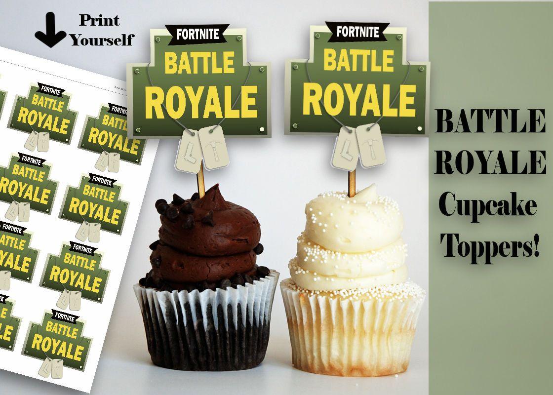 Fortnite Cupcake Fortnite Battle Royale Video Game