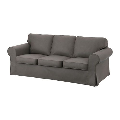 Delicieux EKTORP Sofa Cover   Nordvalla Gray   IKEA For Upstairs Couch