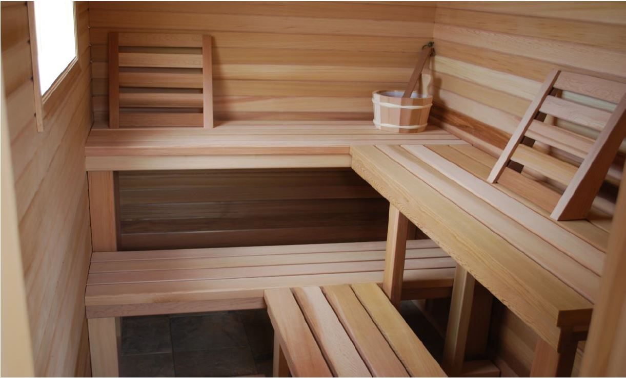 Our Best Diy Home Sauna Kit Installed So Much Natural Light In