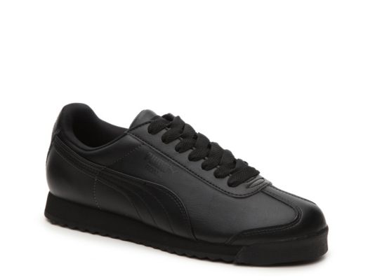 0cd74746 Women's Puma Roma Basic Retro Sneaker - - Black | Products | Zapatos