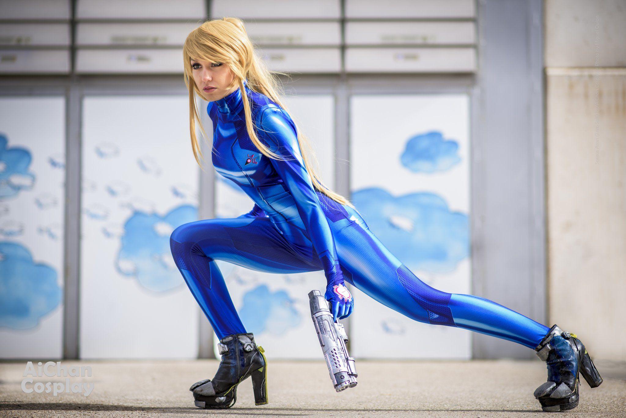 Zero Suit Samus Cosplay AleChan by AleChan1 on DeviantArt