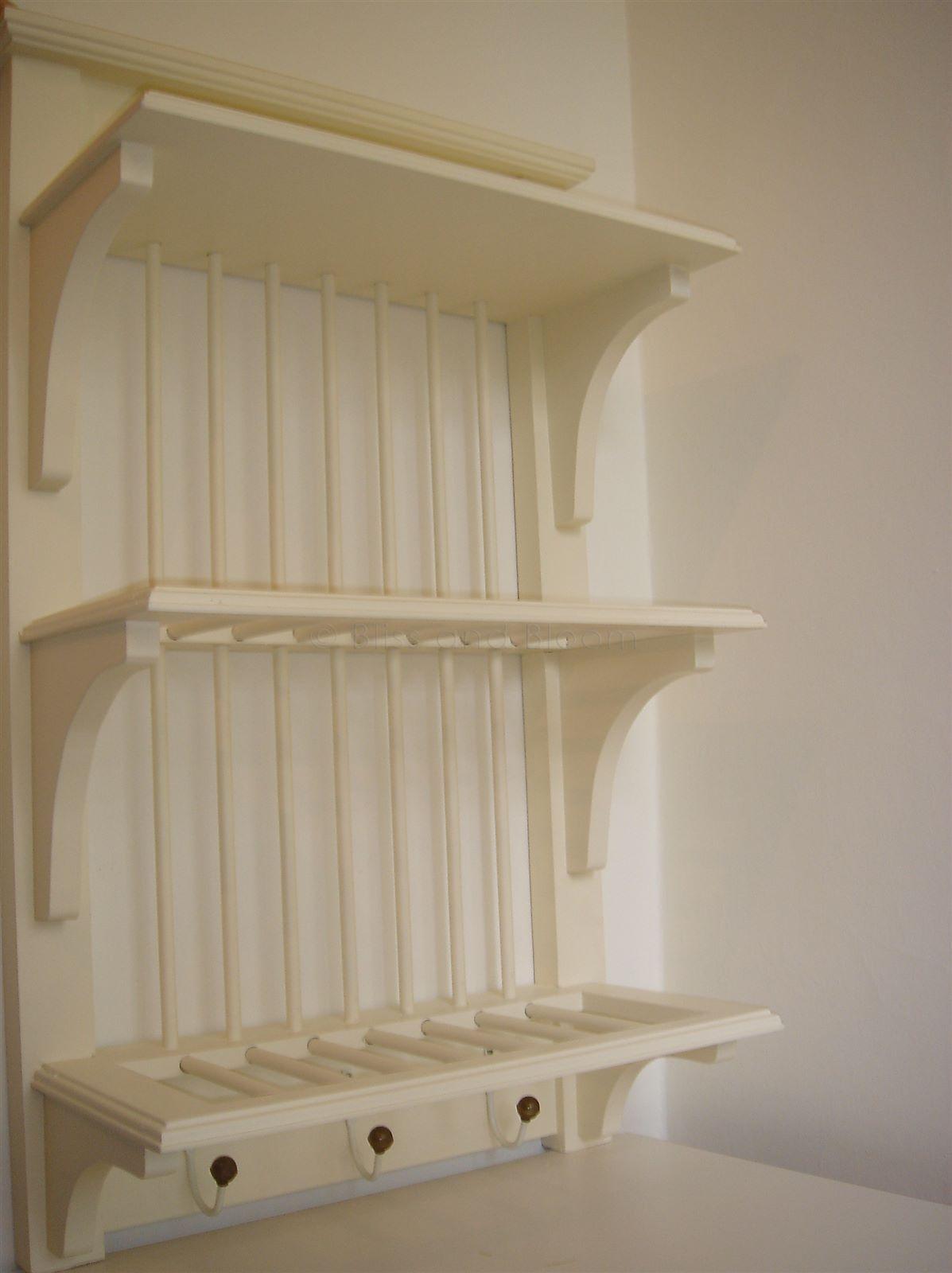 Cream 2 tier plate rack | Bliss and Bloom Ltd & Cream 2 tier plate rack | Bliss and Bloom Ltd | Kitchen ideas ...