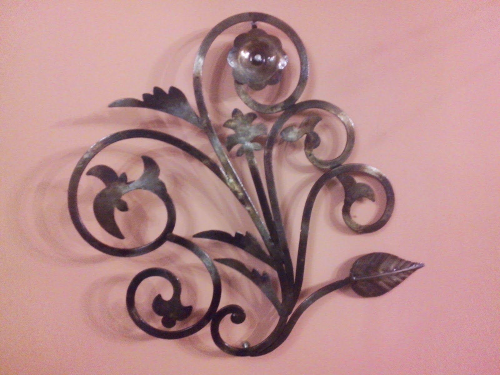 Arte decoraci n manualidad y moda artesan as en hierro - Arte y decoracion ...