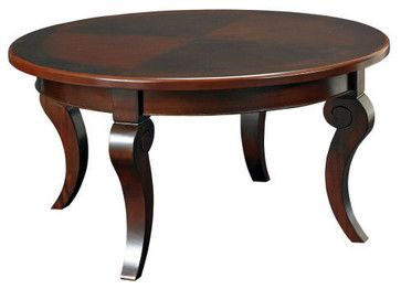 Round Coffee Table Traditional 9