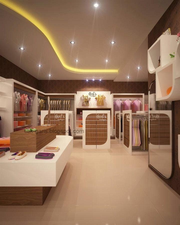Desain Interior Butik Minimalis Modern Dengan Gambar Desain