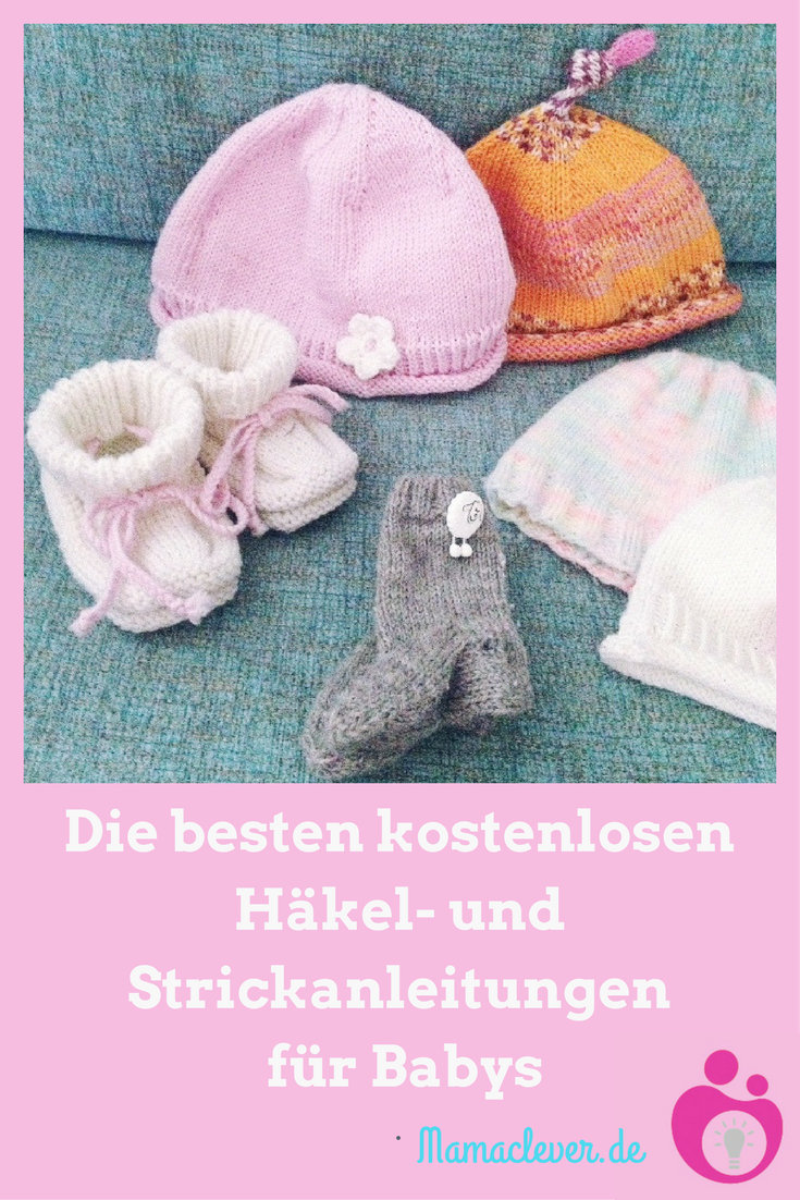 Photo of Kostenlose Strick- und Häkelanleitungen für Babysachen | Mamaclever.de