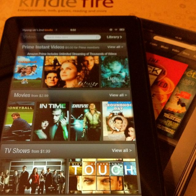 My new Kindle fire