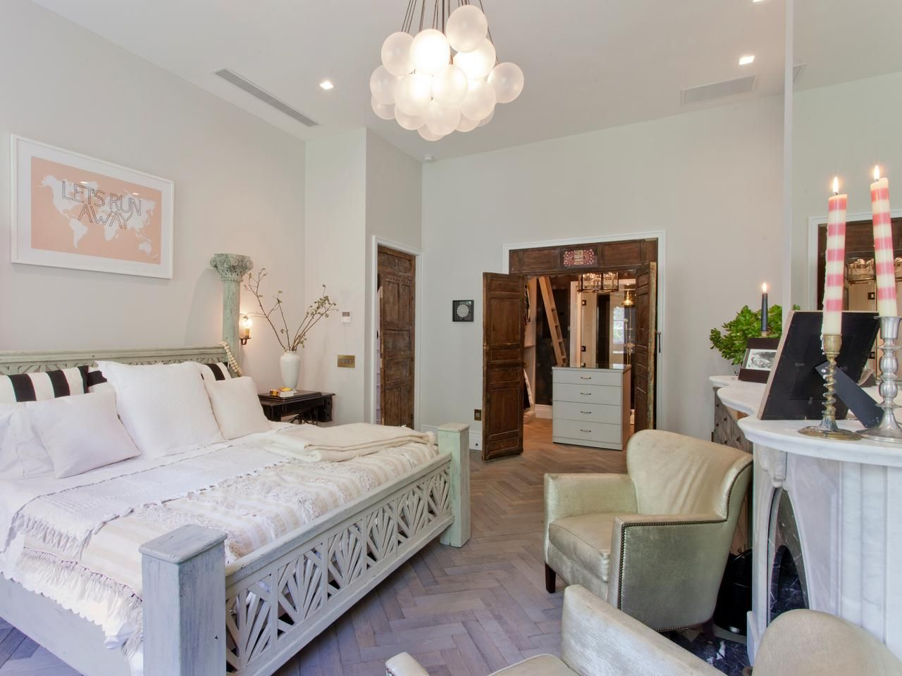 As Seen On Genevieveu0027s Renovation On HGTV. Designer Genevieve Gorder  Created A Tranquil Master Bedroom. Bedroom Decorating IdeasBedroom ...