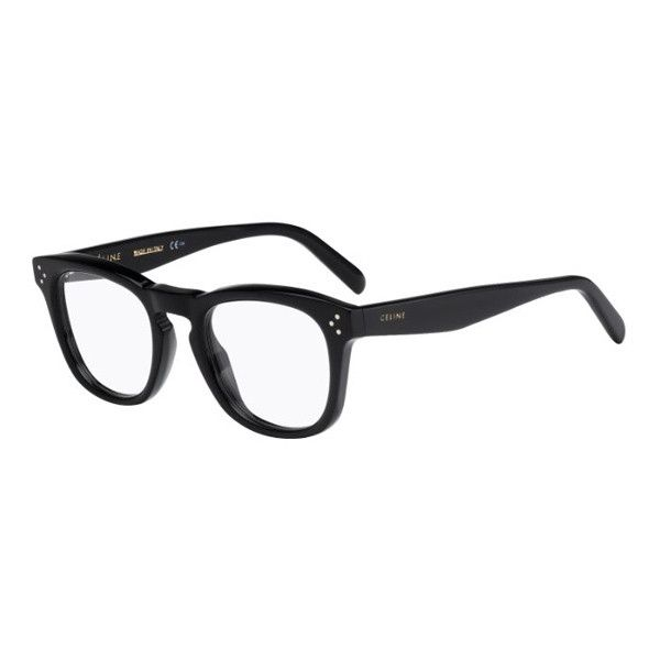 51a8e89fad55c Celine CL 41382 Bevel Square 807 Eyeglasses ( 205) ❤ liked on Polyvore  featuring accessories