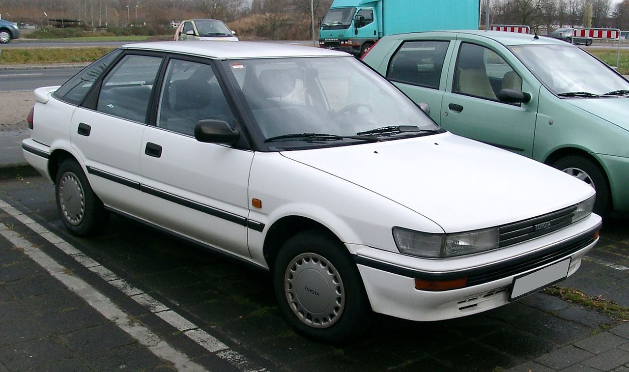 Toyota Corolla – Wikipedia | Automobiles and things with