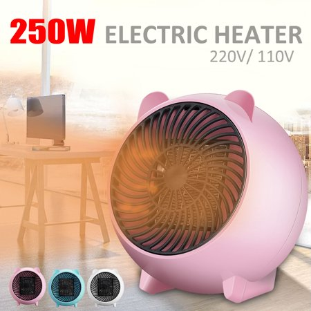 250w 10 Mini Cute Handy Wall Outlet Heater Electric Air Radiator Home Furnace Warmer Us Pink Home Furnace Wall Outlets Heater