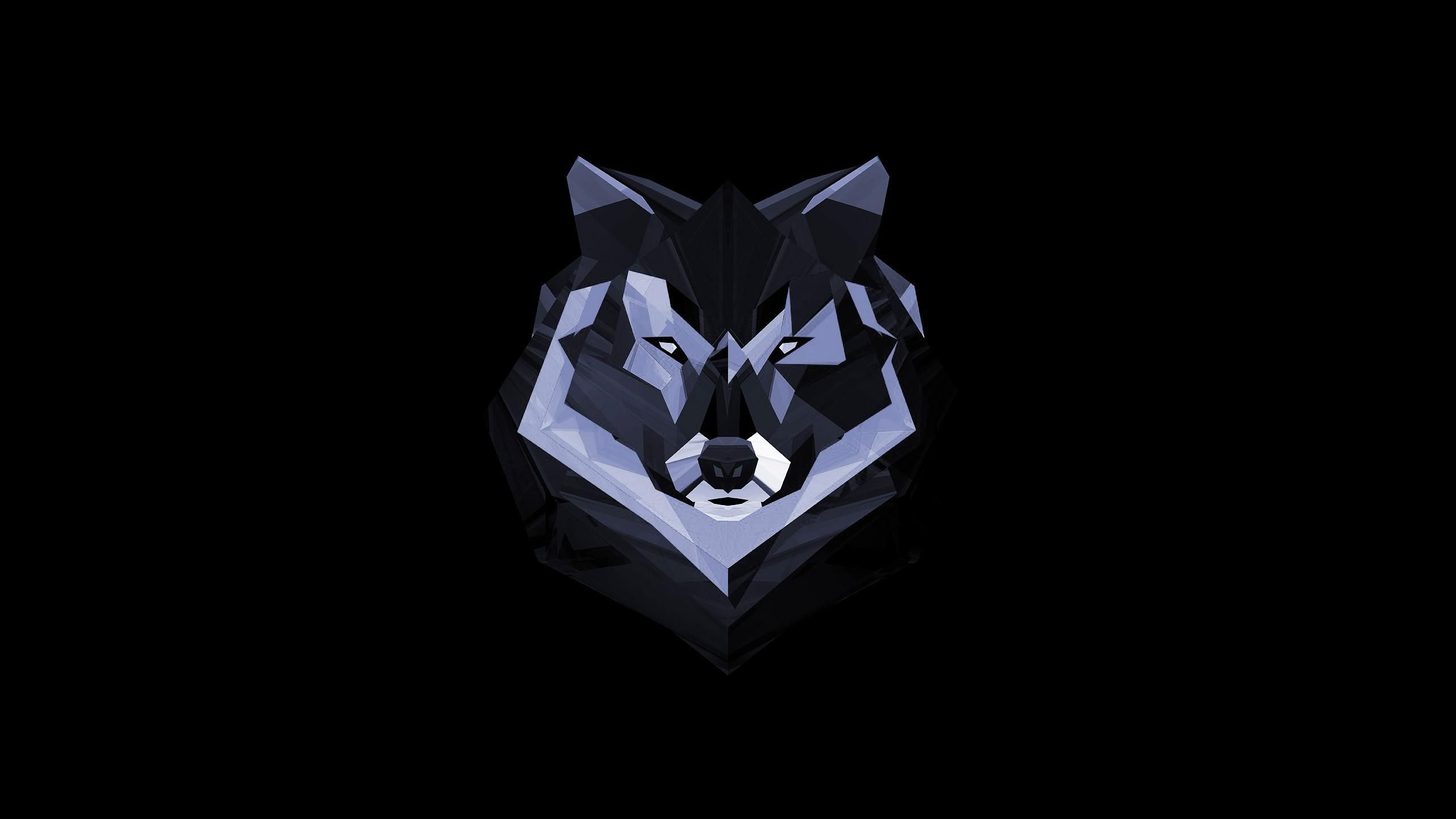 Digital Art Wolf Wallpaper 2560x1440 Id 39377 Wolf Wallpaper Geometric Wolf Art Wallpaper